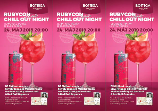 rubycon chill out night v bottege